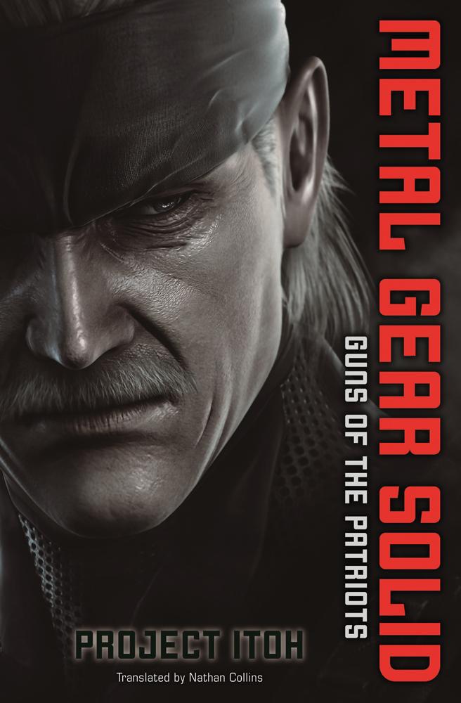 Metal Gear Solid Guns of the Patriots Novel