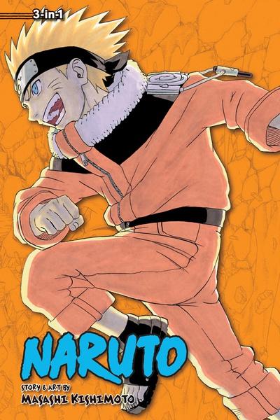 Naruto 3 in 1 Edition Manga Volume 6