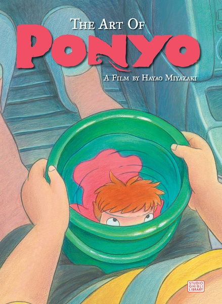 The Art of Ponyo on the Cliff by the Sea (Hardcover)