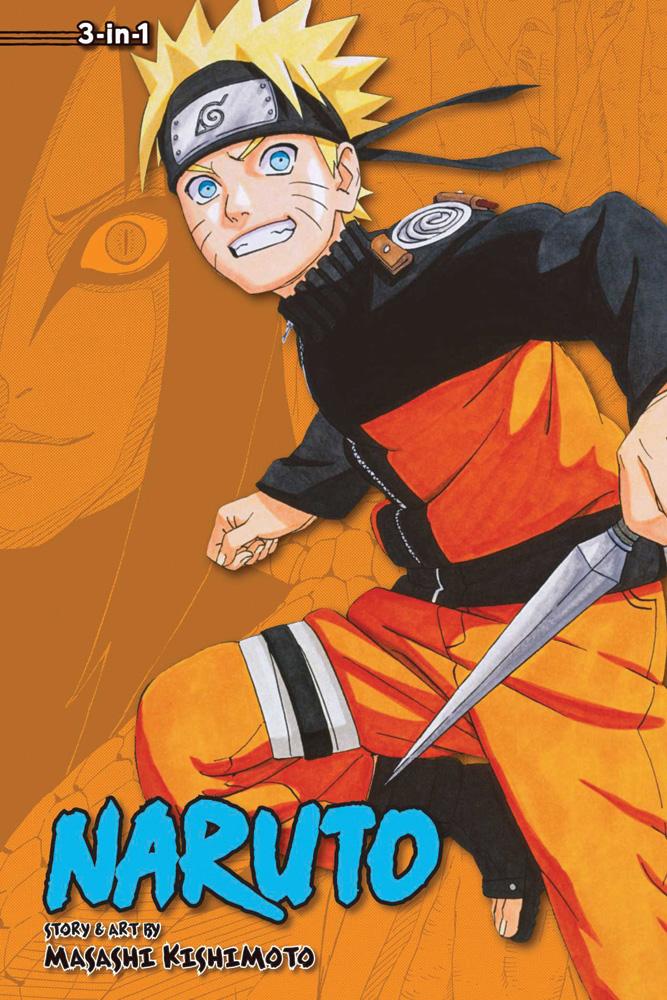 Naruto 3 in 1 Edition Manga Volume 11