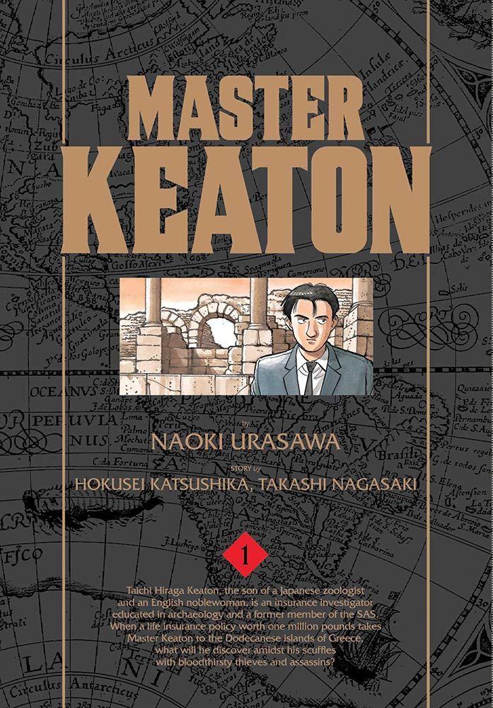 Master Keaton Manga Volume 1
