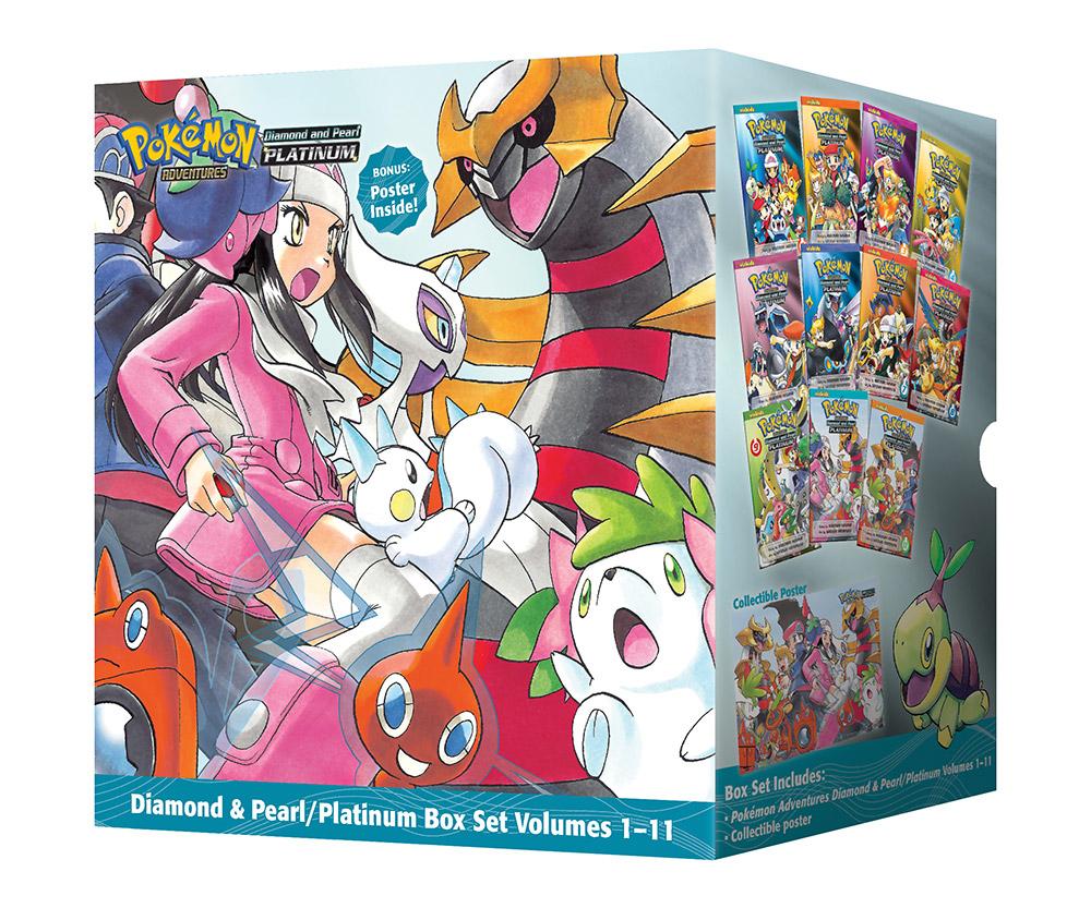 Pokemon Adventures Platinum Manga Box Set