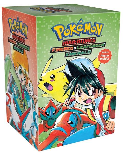 Pokemon Adventures Manga Box Set 4
