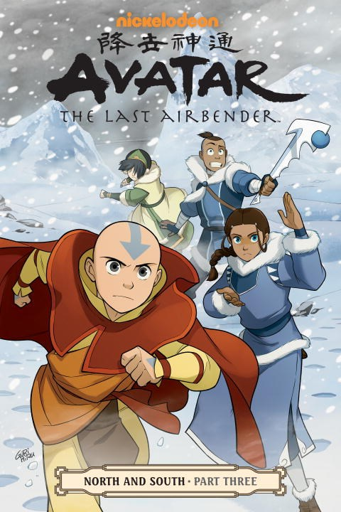 Avatar The Last Airbender North and South Manga Volume 3