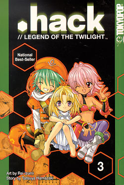 .hack//Legend of the Twilight Manga Volume 3