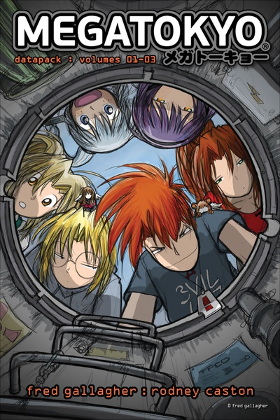 Megatokyo Manga Omnibus Volume 1
