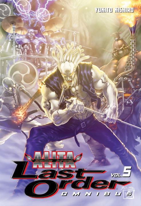 Battle Angel Alita Last Order Manga Omnibus Volume 5