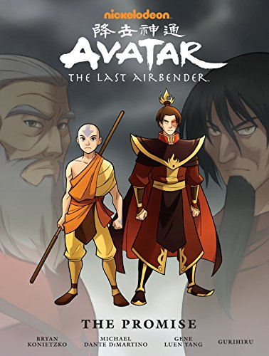 Avatar The Last Airbender The Promise Manga Library Edition (Hardcover)