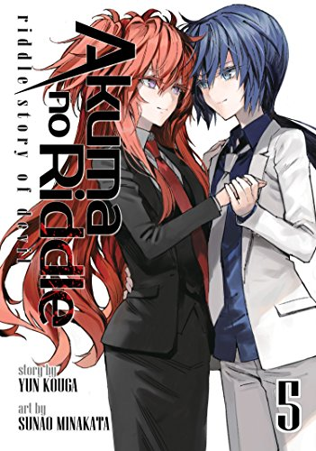 Akuma no Riddle Riddle Story of Devil Manga Volume 5