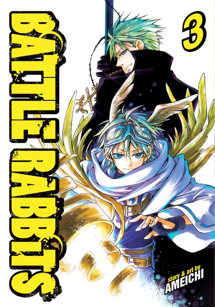 Battle Rabbits Manga Volume 3