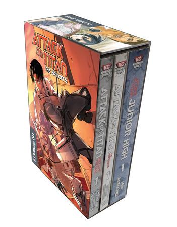 Attack on Titan The Spinoffs Manga Box Set