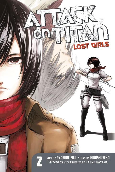 Attack on Titan Lost Girls Manga Volume 2