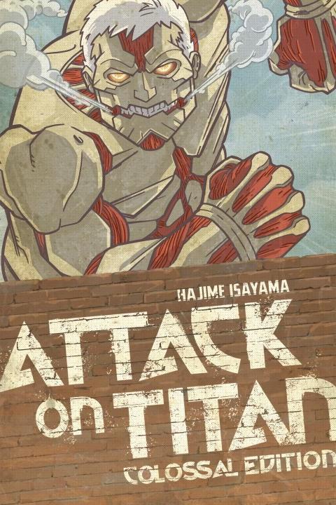Attack on Titan Colossal Edition Manga Volume 3