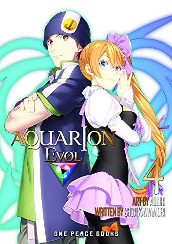 Aquarion Evol Manga Volume 4