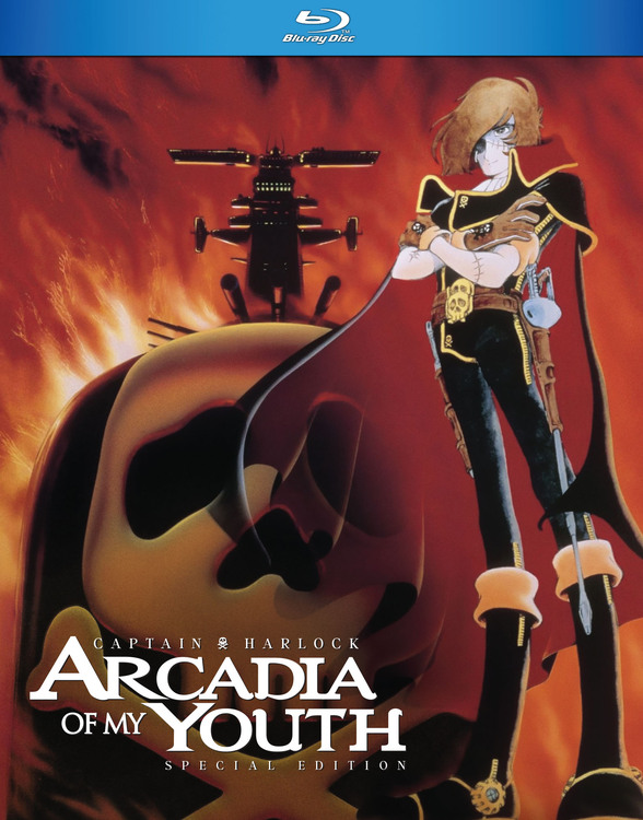 Captain Harlock Arcadia of My Youth Blu-Ray