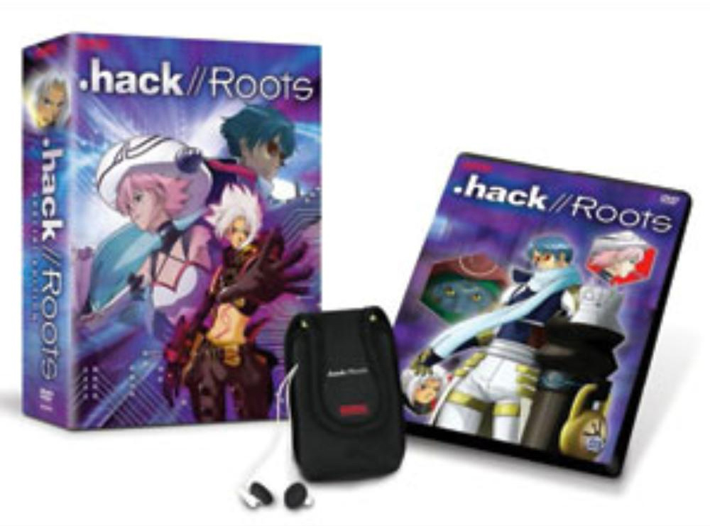 .hack//Roots Special Edition DVD 3 + MP3 Case