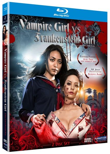 Vampire Girl vs Frankenstein Girl Blu-ray