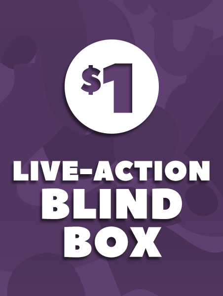 $1 Live Action Blind Box