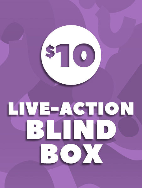 $10 Live Action Blind Box