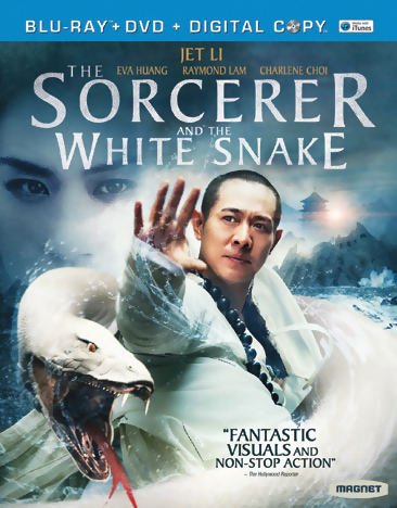 The Sorcerer and the White Snake Blu-ray/DVD