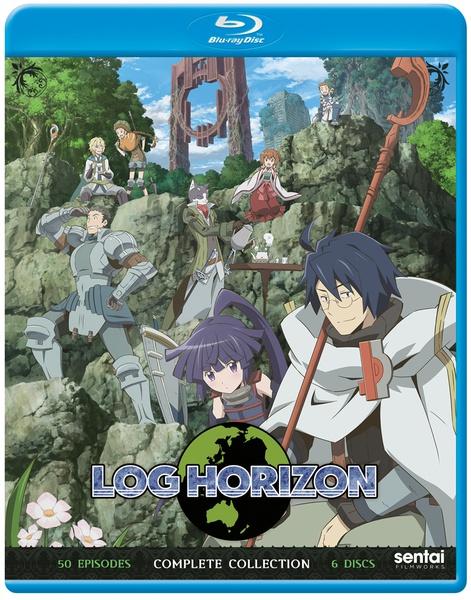 Log Horizon Complete Collection Blu-Ray
