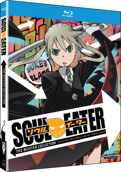 Soul Eater Part 1-2 (Meister Collection) Blu-ray