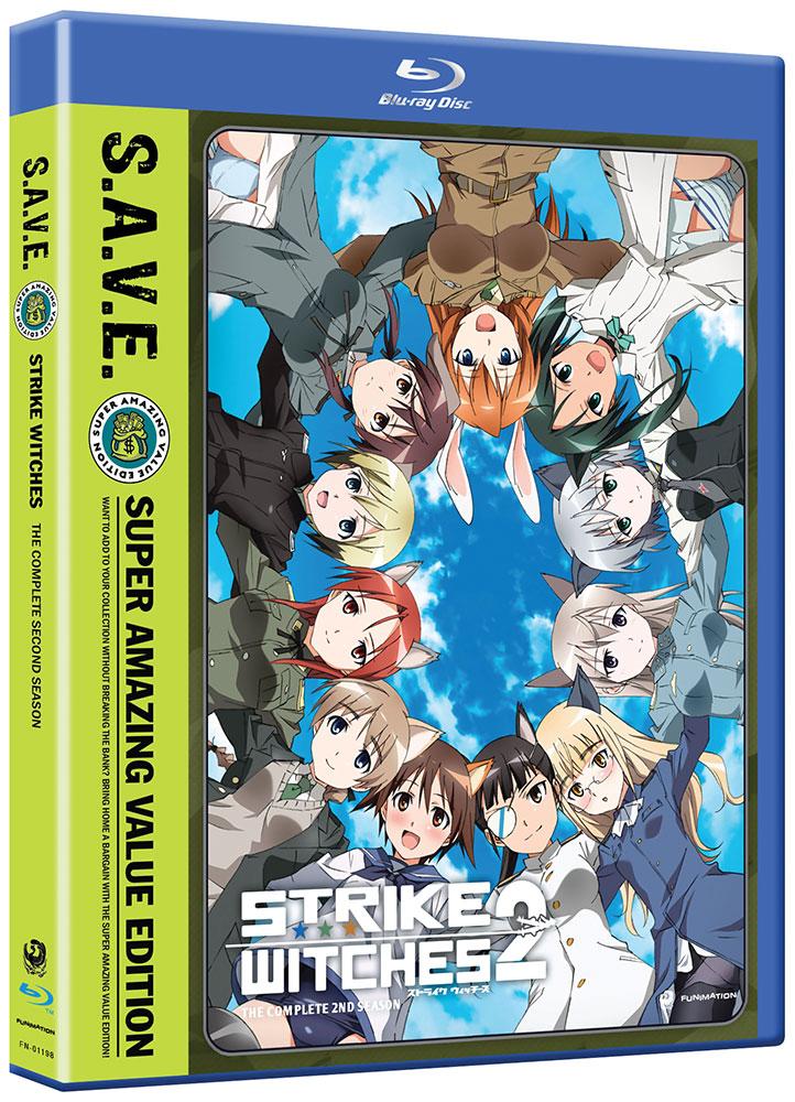 Strike Witches Season 2 Blu-ray/DVD SAVE Edition