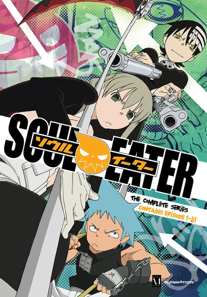 Soul Eater Complete Series DVD