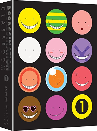 Assassination Classroom Season 1 Part 1 Limited Edition Blu-ray/DVD