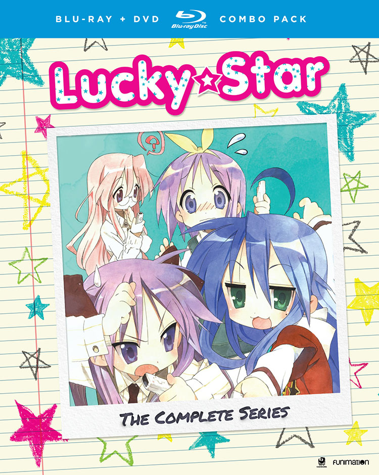 Lucky Star Complete Series + OVA Blu-ray/DVD