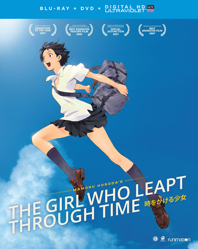 The Girl Who Leapt Through Time Blu-ray/DVD + UV