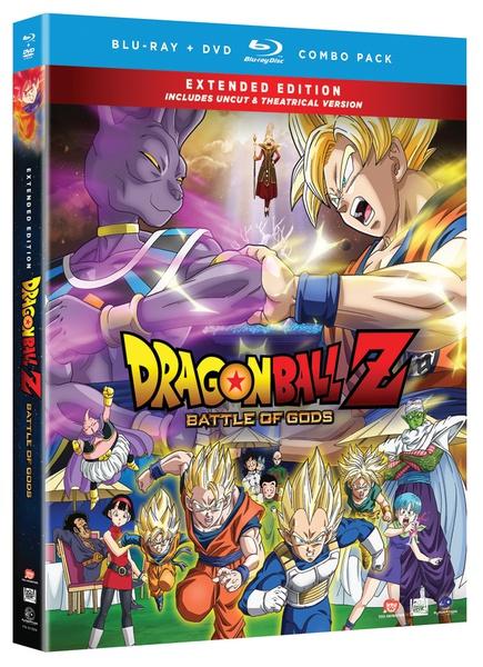 Dragon Ball Z Movie 14 Battle of Gods Blu-ray/DVD Uncut
