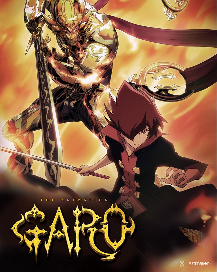 GARO The Animation Season 1 Part 1 Blu-ray/DVD