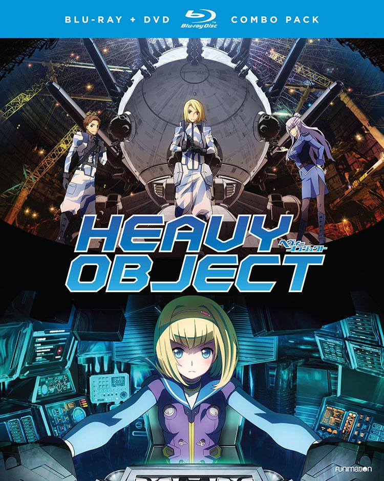 Heavy Object Season 1 Part 1 Blu-ray/DVD