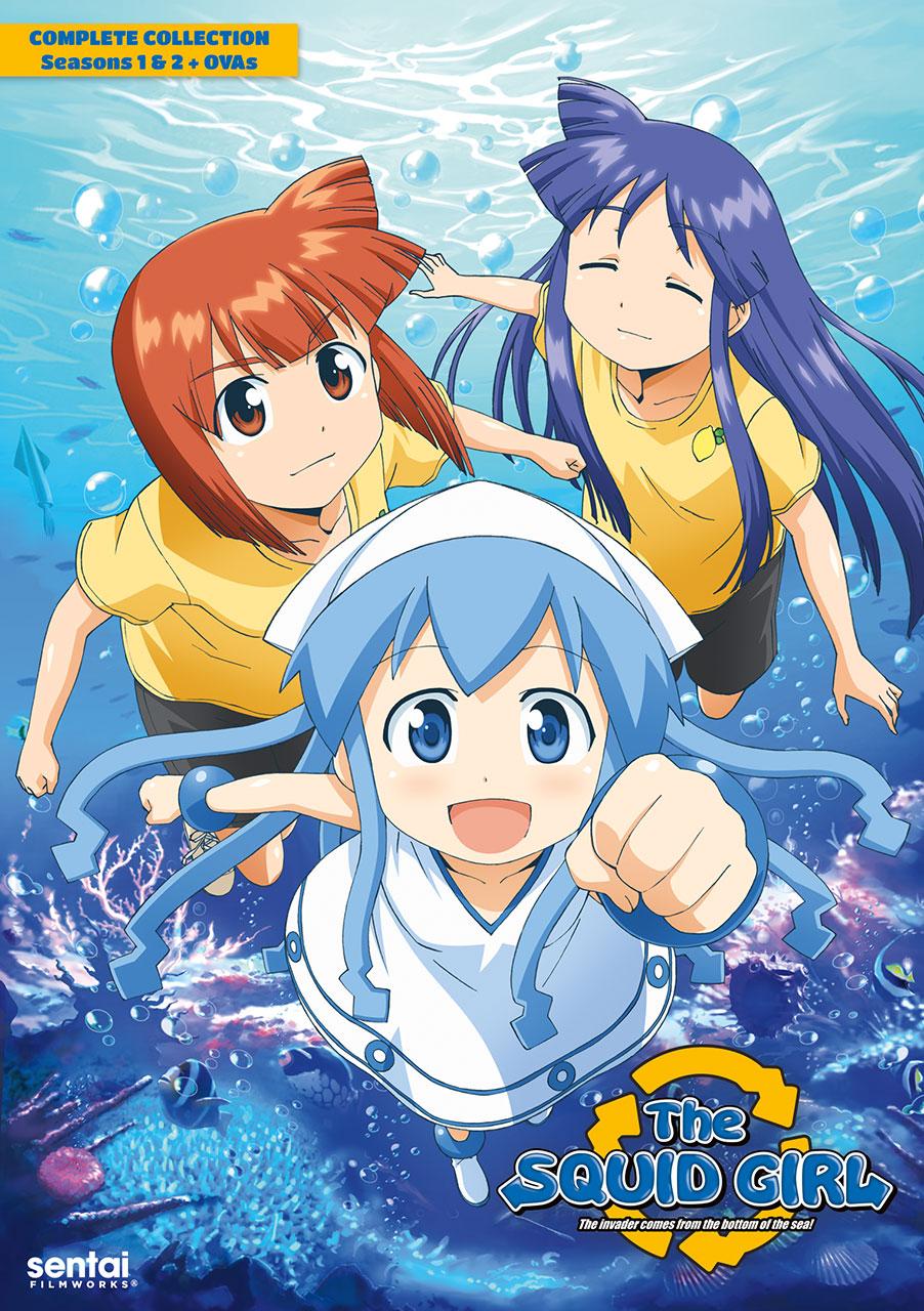 The Squid Girl DVD