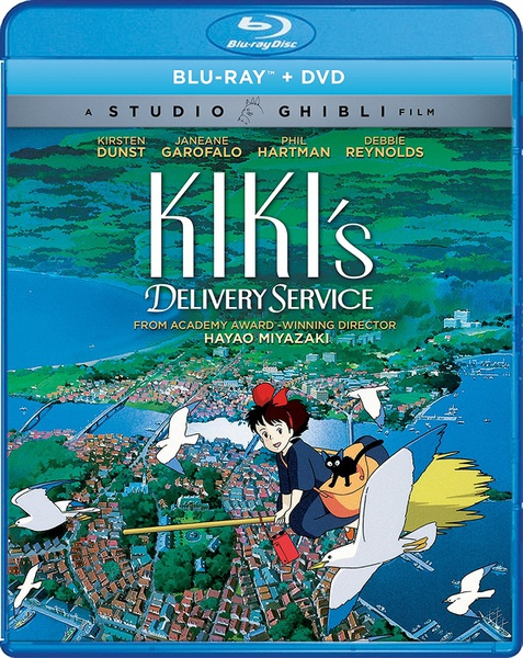 Kikis Delivery Service Blu-ray/DVD