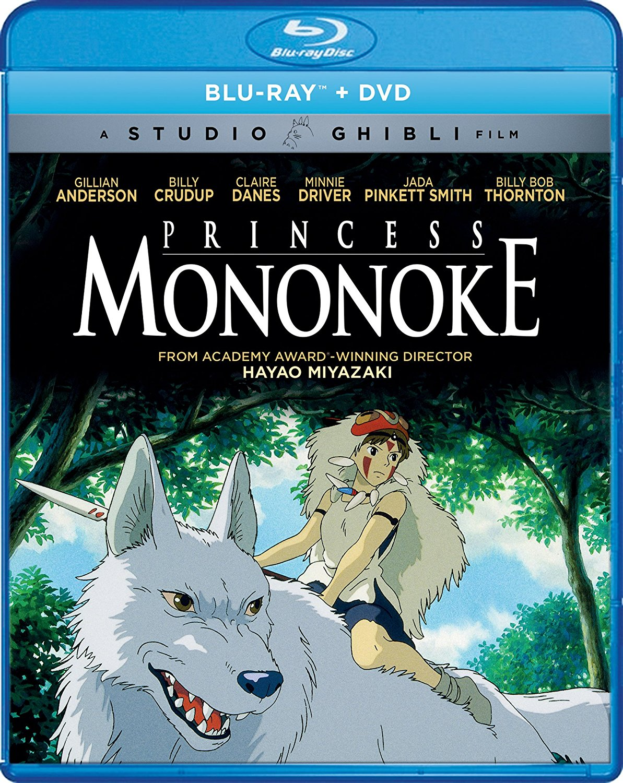 Princess Mononoke Blu-ray/DVD