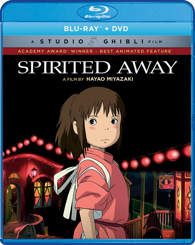 Spirited Away Blu-ray/DVD