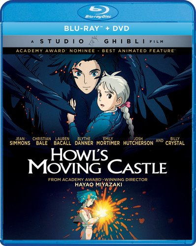 Howls Moving Castle Blu-ray/DVD