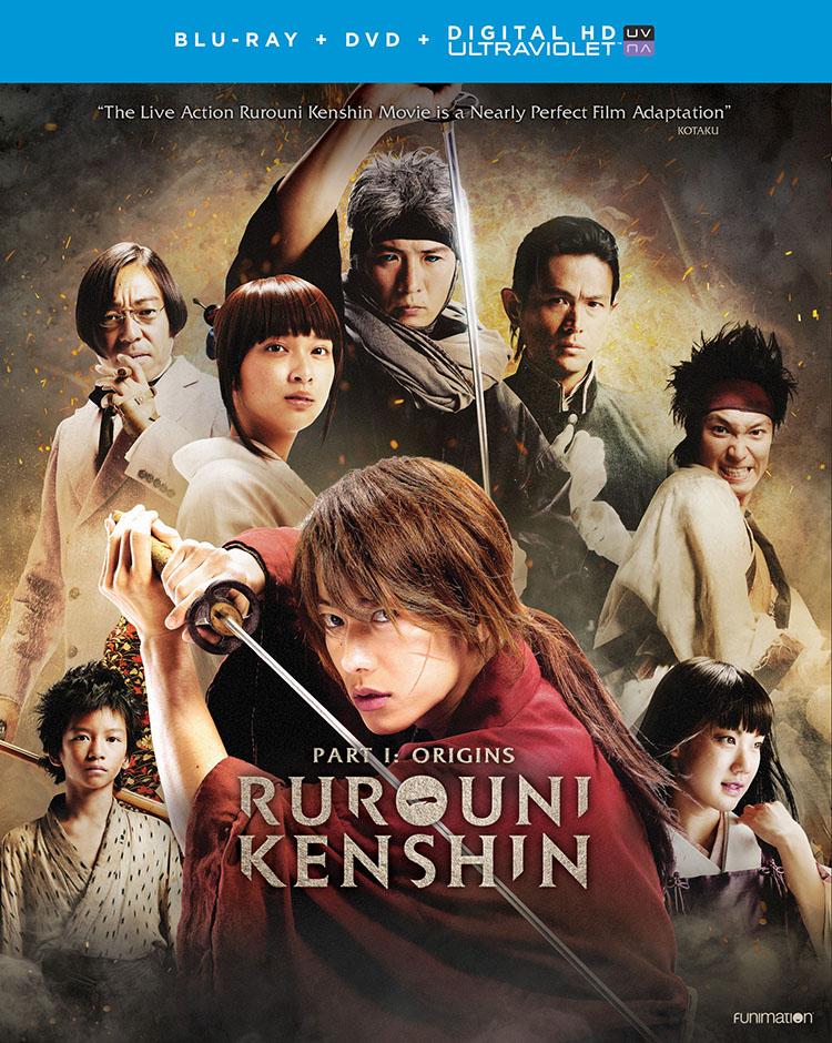 Rurouni Kenshin Origins Blu-ray/DVD + UV