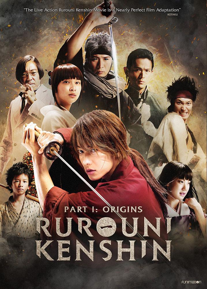Rurouni Kenshin Origins DVD