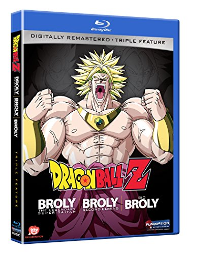 Dragon Ball Z Movies 8, 10, 11 Blu-ray