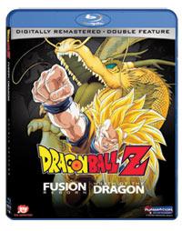 Dragon Ball Z Movies 12-13 Fusion Reborn/Wrath of the Dragon Blu-ray