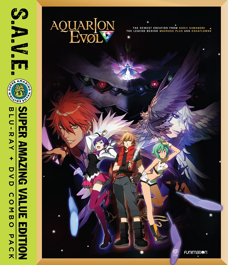 Aquarion EVOL Season 2 Blu-ray/DVD SAVE Edition