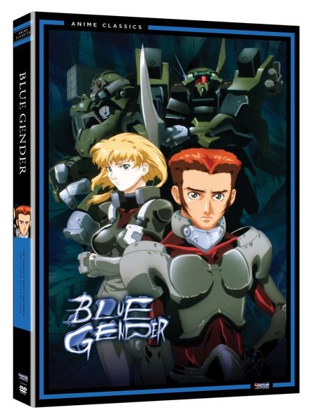 Blue Gender Complete Series + Movie DVD Anime Classics