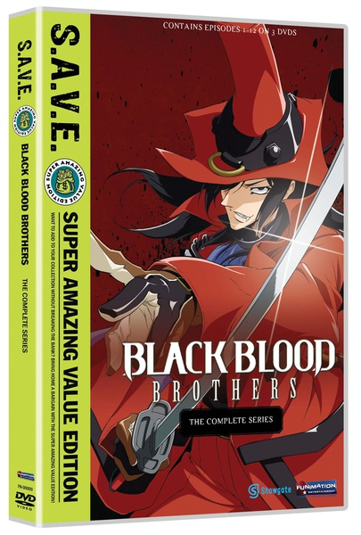 Black Blood Brothers Complete Series DVD SAVE Edition