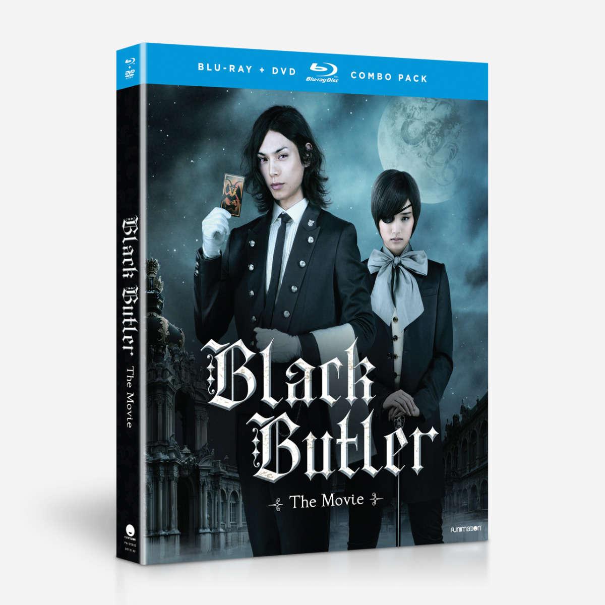 Black Butler The Movie Blu-Ray/DVD