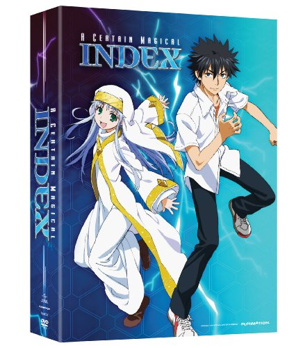 A Certain Magical Index Season 1 Part 1 Limited Edition DVD
