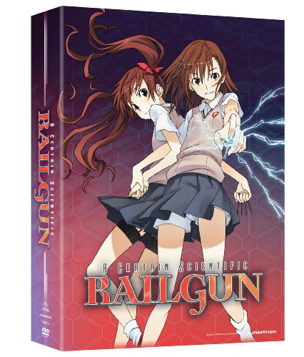 A Certain Scientific Railgun Season 1 Part 1 Limited Edition DVD