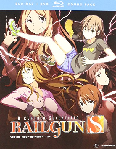 A Certain Scientific Railgun S Blu-ray/DVD